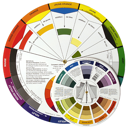Color wheel company cercle chromatique guide du - Associations de couleurs ...