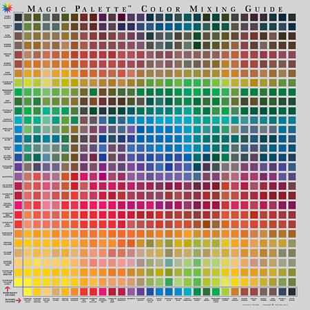 Pro Mix Paint Colour Code