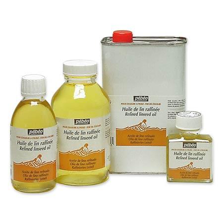 P b o huile de lin raffin e schleiper online catalogue - Terebenthine huile de lin ...