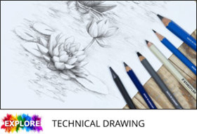 7 drawing with staedtler