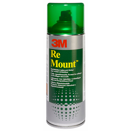 3M Re Mount - herpositioneerbare lijm in spuitbus - 400ml