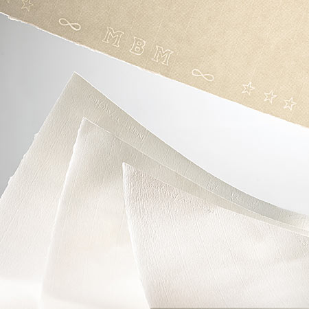 Arches Ingres d'Arches MBM - drawing paper - sheet 130g/m² - 50x65cm - 4 deckled edges