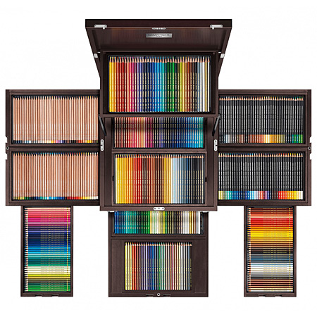 Caran d'Ache Treasure Chest of Colour 30 years Supracolor Soft - coffret d'exception - 422 crayons assortis