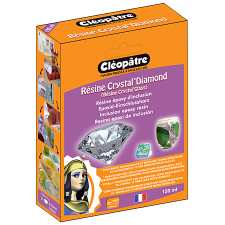 Cléopâtre Résine Crystal'Diamond - inclusie epoxy hars - 150ml