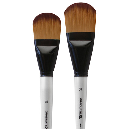 Daler-Rowney Graduate XL - brush - synthetic soft - filbert - short handle