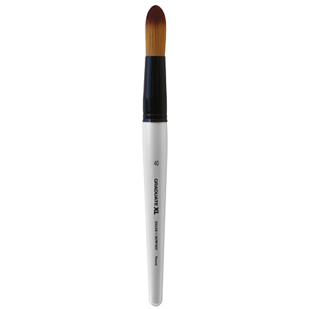 Daler-Rowney Graduate XL - brush - synthetic soft - round - short handle - n.40
