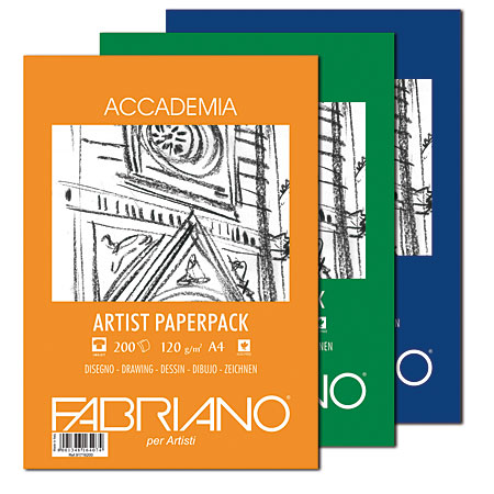 Fabriano Accademia Artist Paperpack - drawing paper - pack of sheets