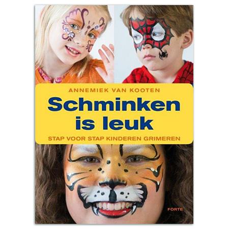 Betere Schminken is leuk - stap voor stap kinderen grimeren - Schleiper ZZ-51