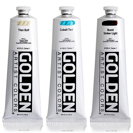 Golden Heavy Body - acrylique extra-fine - tube 150ml