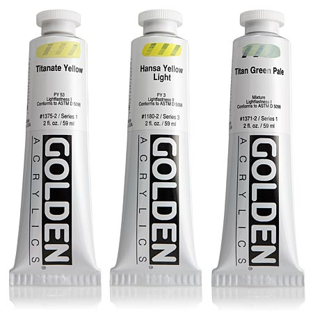 Golden Heavy Body - acrylique extra-fine - tube 60ml