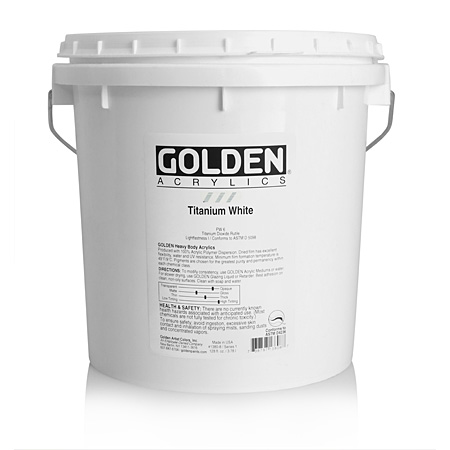 Golden Heavy Body - acrylique extra-fine - seau 3,78l