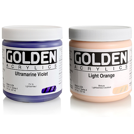 Golden Heavy Body - acrylique extra-fine - pot 236ml