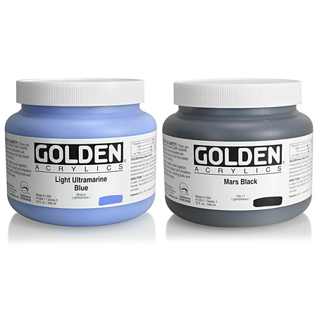 Golden Heavy Body - acrylique extra-fine - pot 946ml