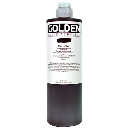 Golden Fluid - acrylique extra-fine - flacon 473ml