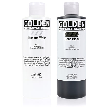 Golden Fluid - acrylique extra-fine - flacon 236ml