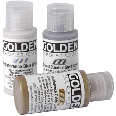Golden Fluid Interference - acrylique extra-fine - flacon 30ml
