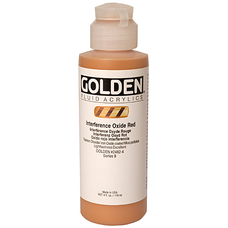 Golden Fluid Interference - acrylique extra-fine - flacon 119ml