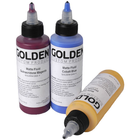 Golden Fluid Matte - acrylique extra-fine - flacon 119ml