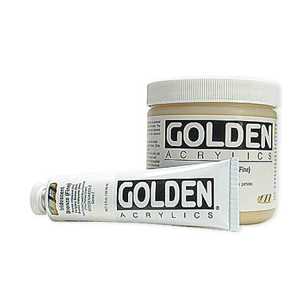 Golden Heavy Body Iridescent - acrylique extra-fine - couleurs - tube 60ml
