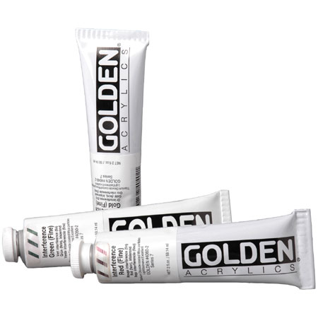 Golden Heavy Body Interference - acrylique extra-fine - tube 60ml
