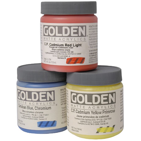 Golden Heavy Body Matte - acrylique extra-fine - pot 119ml