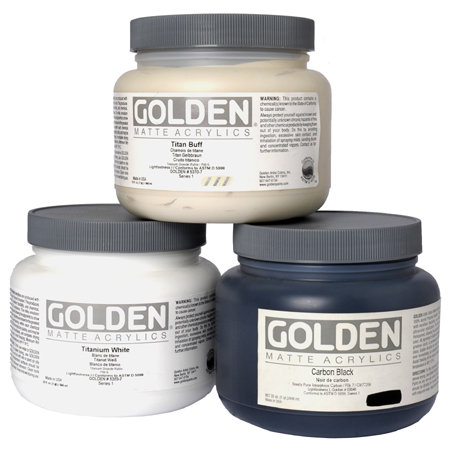 Golden Heavy Body Matte - acrylique extra-fine - pot 946ml