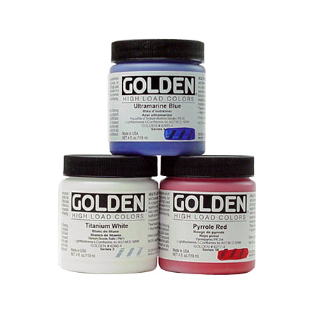 Golden High Load - acrylique extra-fine - pot 119ml