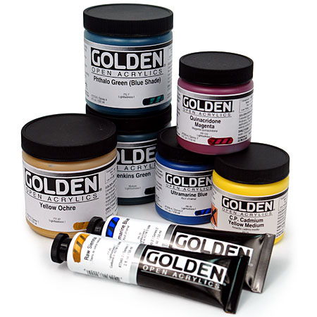 Golden Open - acrylique extra-fine - pot 236ml