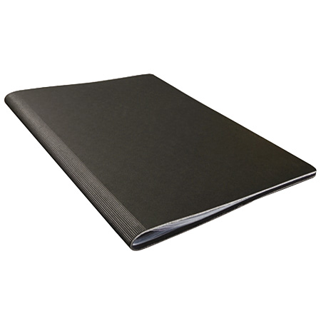 Prat Pampa - display book - bonded leather cover - sheet-protectors - black