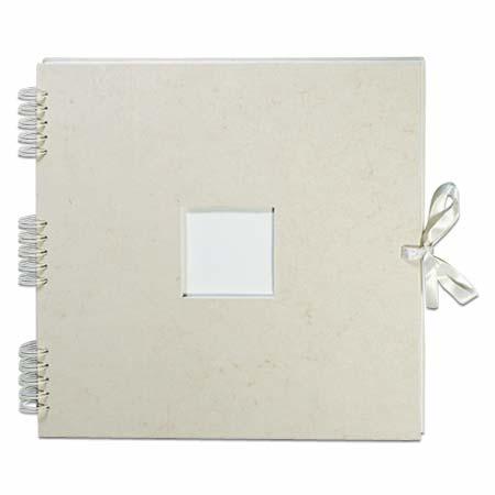 Prat Cérémonie - wire-bound photo album - hard cover with parchment