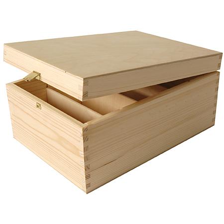 peacock bo te de rangement pour photos en bois. Black Bedroom Furniture Sets. Home Design Ideas