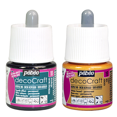 Pébéo DecoCraft - encre acrylique - flacon 45ml