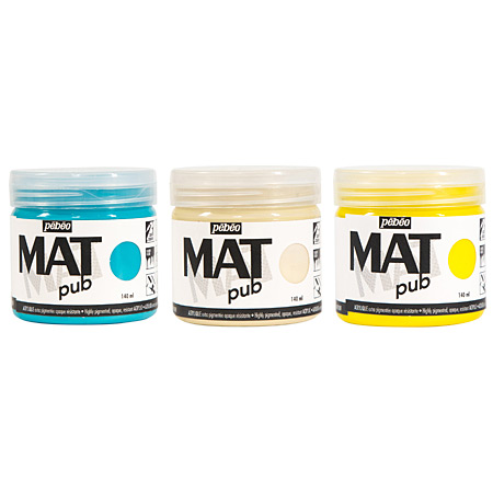 Pébéo Mat Pub - acrylique extra-mate - pot 140ml