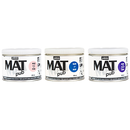 Pébéo Mat Pub - acrylique extra-mate - pot 500ml