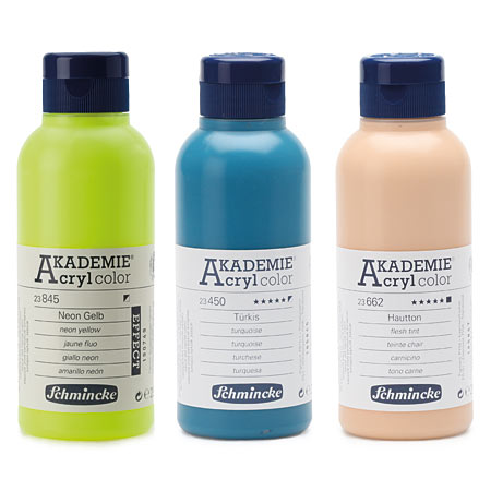 Schmincke Akademie Acryl Color - acrylique fine - flacon 250ml