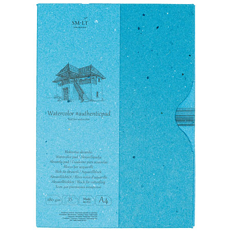 SM-LT Art #authenticpad - watercolour pad - 35 sheets 280g/m² - A4 - rough
