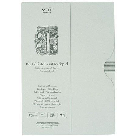 SM-LT Art #authenticpad - sketch pad (bristol paper) - 50 sheets 185g/m² - A4
