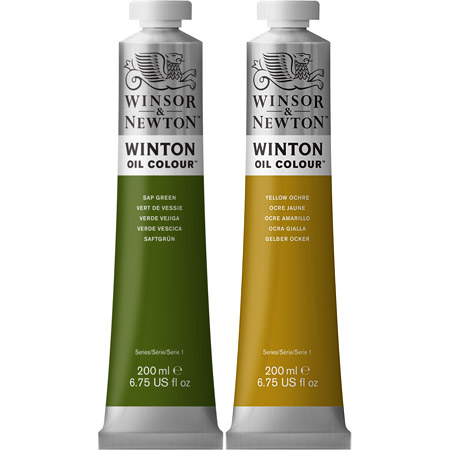 Winsor & Newton Winton - huile fine - tube 200ml
